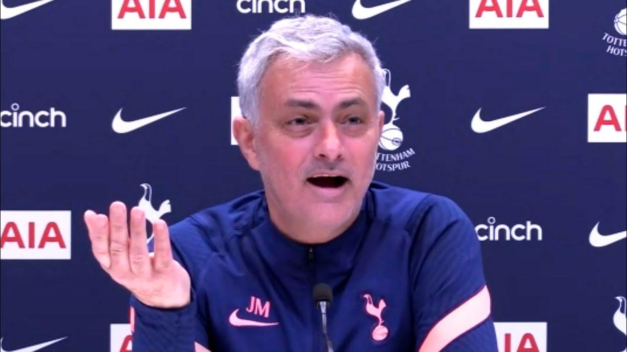 Jose Mourinho - Tottenham v Burnley - Pre-Match Press Conference - YouTube