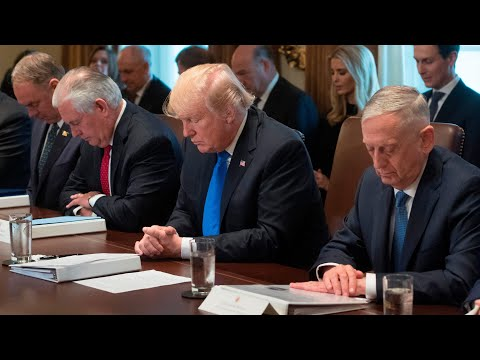 Download Youtube: Trump asks Ben Carson to say prayer before cabinet meeting