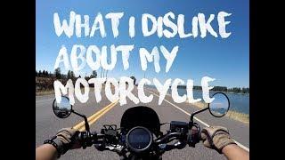 What I Dislike About My Honda Rebel
