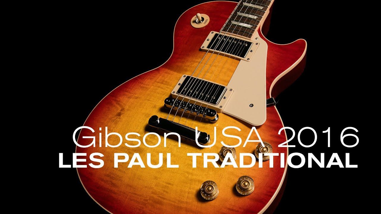 gibson 2016 les paul traditional overview w with loop