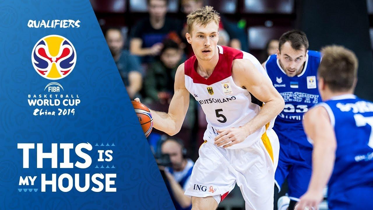 Germany v Estonia - Full Game - FIBA Basketball World Cup 2019