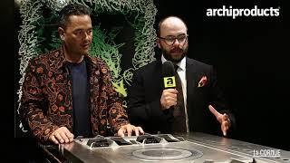 Eurocucina FTK  2018 | LA CORNUE - Cyril Kongo and Benoit Favier present Le Chateau