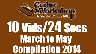10 Videos In 24 Seconds-  March To May Compilation 2014