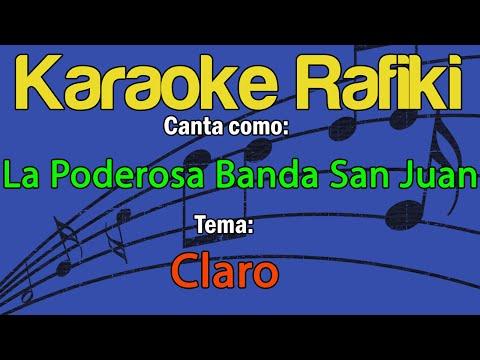 La Poderosa Banda San Juan - Claro Karaoke Demo