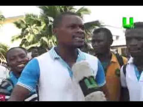 K-Poly Students In Demo Against SRC Over Misuse Of Funds