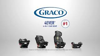 Graco's 4Ever 4-In-1 Car Seat Is America's #1 Most Trusted Car Seat