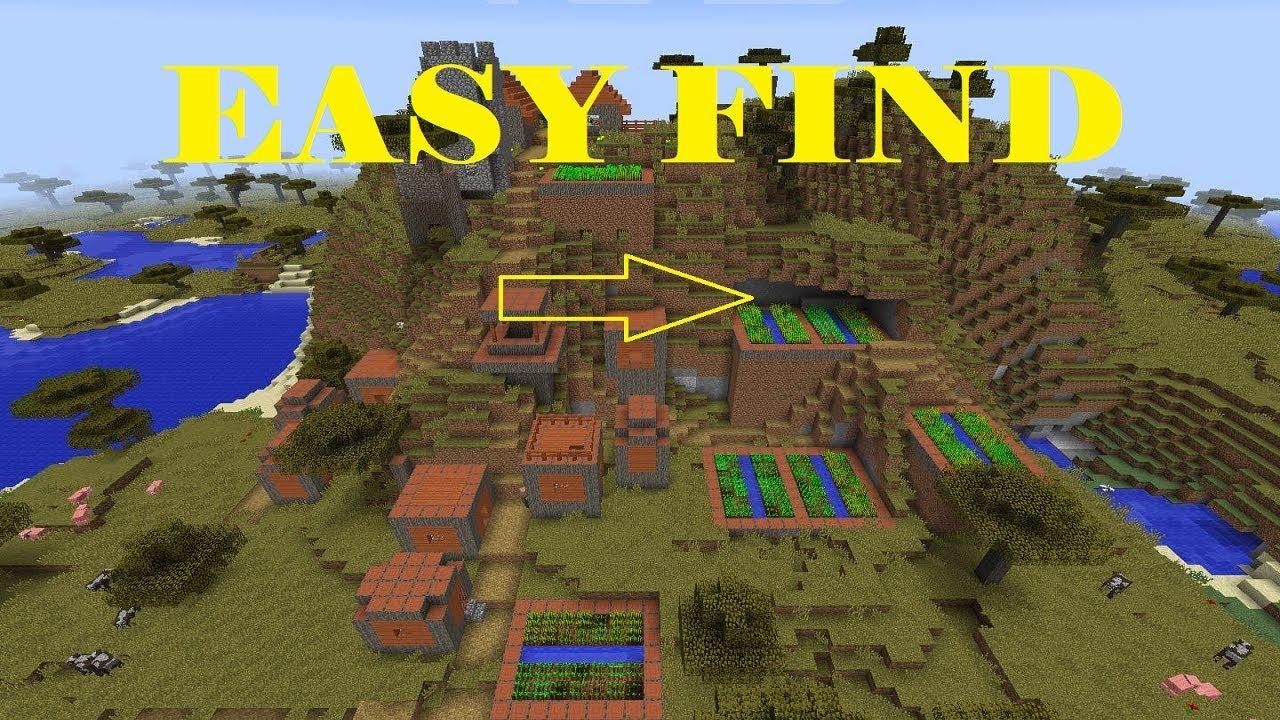 How to find a village in Minecraft 8