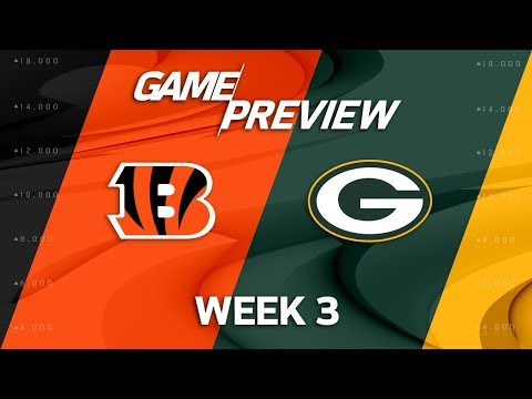 Cincinnati Bengals vs. Green Bay Packers | Week 3 Game Preview | NFL