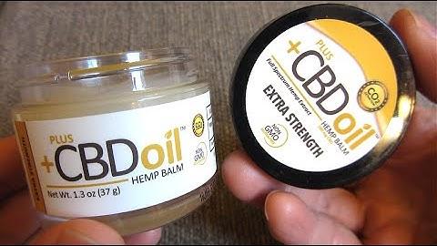 CBD Oil   Hemp Balm Ointment   Pain Management   Stress Management   PlusCDB Oil