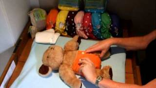 How to put on a Fancypants nappy!