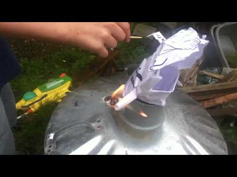 Burning my rubbish RE project