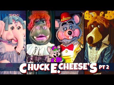 Extinct Chuck E Cheese Animatronic Characters Pt 2