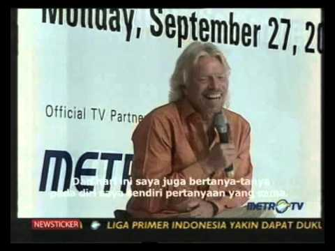 Face2Face with Sir Richard Branson (Part 1)