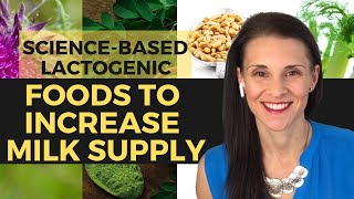 Lactogenic Foods To Increase Milk Supply