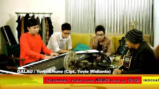 Video Yovie & Nuno - GALAU download MP3, 3GP, MP4, WEBM, AVI, FLV Agustus 2017