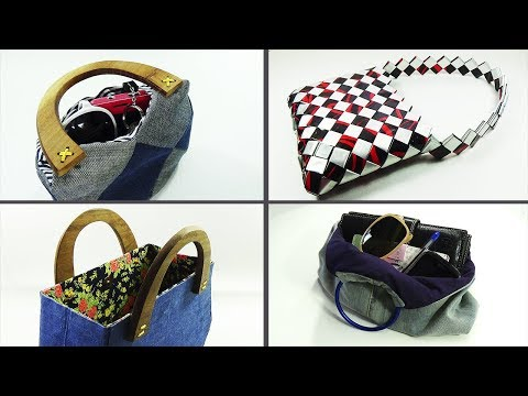 5 RECYCLED bags to sell || Recycled Crafts || Ecobrisa DIY