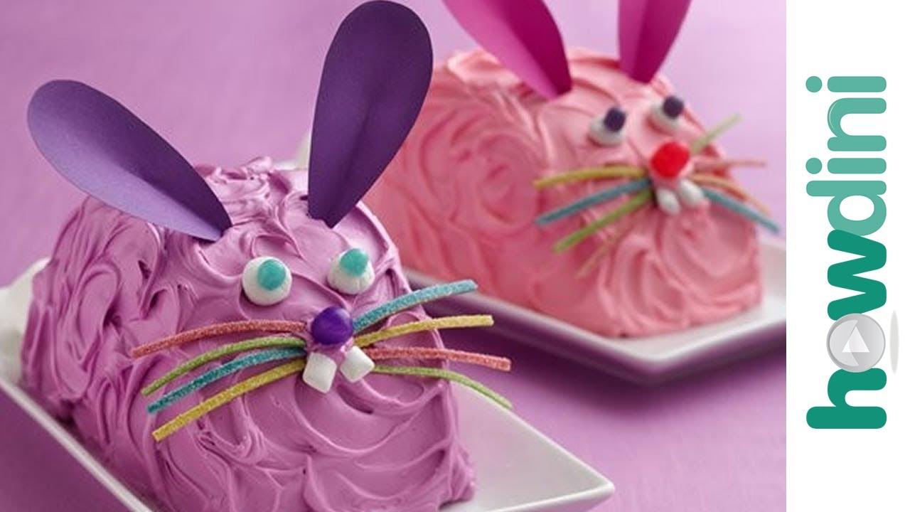 Easter Cakes  How To Make A Bunny Cake