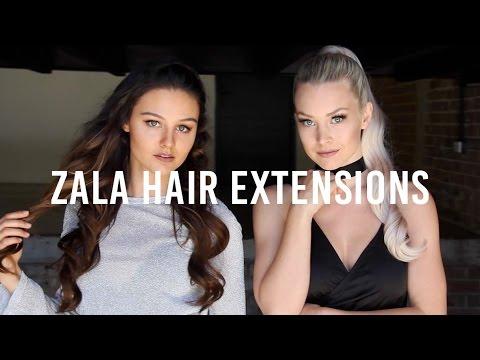 ZALA Hair Extensions 2017 Lookbook