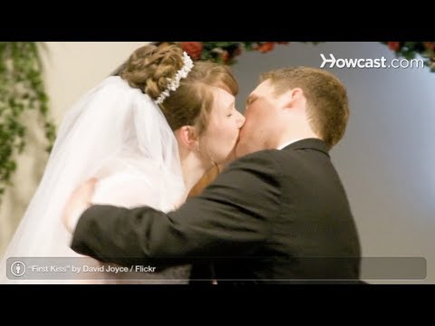 How To Kiss After Saying I Do Perfect Wedding
