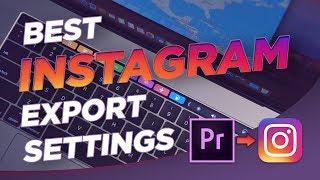 Video How to Export High Quality Instagram Videos | Premiere Pro download MP3, 3GP, MP4, WEBM, AVI, FLV Oktober 2018
