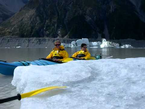 Tasman Glacier Sea Kayaking - Aoraki Mount Cook