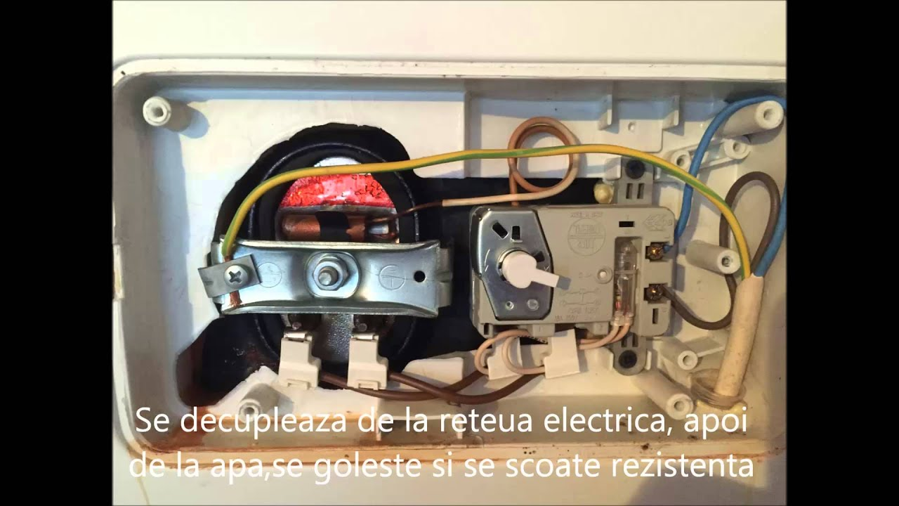 Reparatie Boiler Electric Ariston Youtube