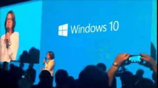 Cortana em português do Brasil no palco da Microsoft
