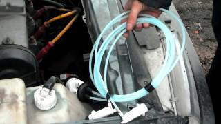 Как поменять гидрокорректор фар ВАЗ 2113-15