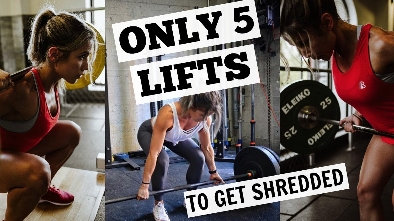 new arrival cheapest new release ONLY 5 LIFTS You Need to Get Fit | HOW TO: Squat, Deadlift ...