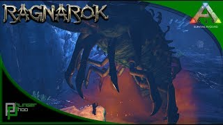 Ark Ragnarok HOW TO SOLO FARM THE DEATHWORM ICE QUEEN! WICKED AMAZING LOOTS!