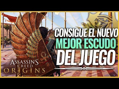 Assassin's Creed Origins   Curse of the Pharaohs Consigue el NUEVO MEJOR ESCUDO   La pena de Mut thumbnail