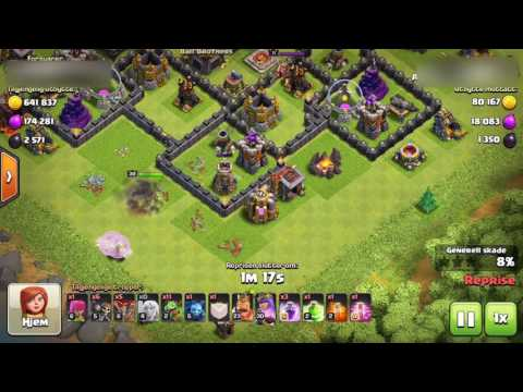 Clash of Clans Queen AI