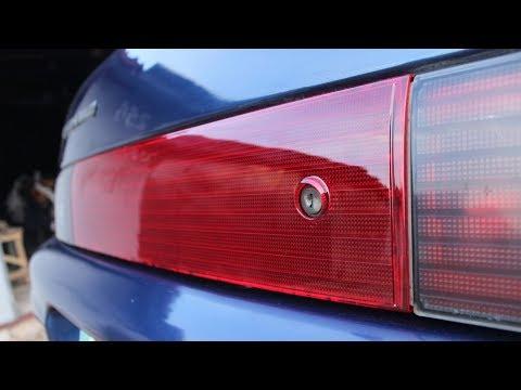 Замена заднего катафота ( накладки крышки багажника)ВАЗ 2112. DoRABOTKA