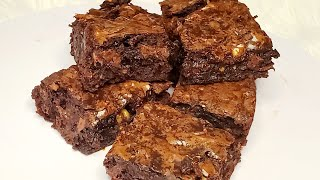 Easy Fudge Brownies Recipe | Box Brownies Hack