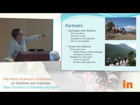 INNAC 2013: Backcountry Endurance Sports with Type 1 Diabetes; by Ben Clements and Carla Cox