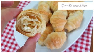 Crispy puff pastry/pastry with only 3 ingredients / Figen Ararat
