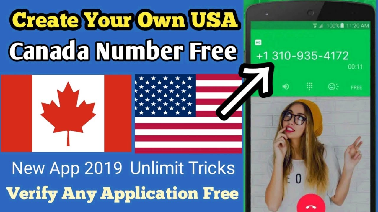 Create Your Own UAS & Canada Number Free - Textplus Free Sms Textplus And  Calls/Chhabila Tech Hindi