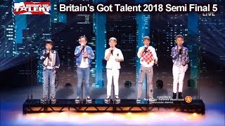 "Bring It North  ""A Million Dreams""  PERFECT SONG Britain's Got Talent 2018 Semi Finals 5 BGT S12E12"