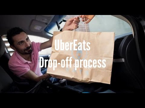 UberEats Delivery Drop off Review