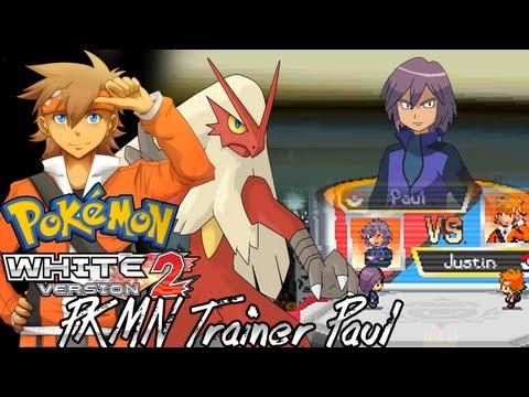 Pokemon White 2 Hack: Vs. Paul (Team 1)