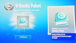 *LIMITED* FREE V-Bucks Package in Fortnite get!! (that's how it goes)