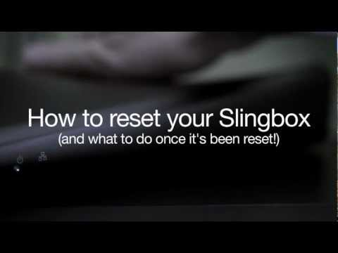 How to reset your Slingbox