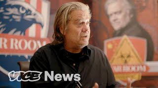 Steve bannon is perhaps the most influential political strategist of recent times. in leadup to strangest election us history we met with ...