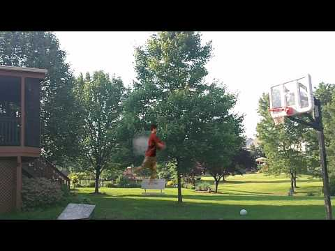 3 Point Line Dunk (NOT FAKE)