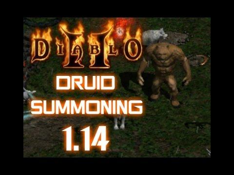 Druid Summoner Build - Diablo 2 - YouTube
