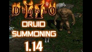 Druid Summoner Build - Diablo 2