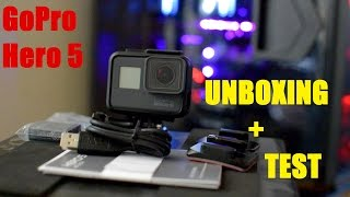 GoPro Hero 5 BLACK | UNBOXING + TEST