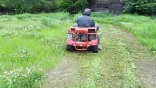 乗用草刈機