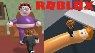 ROBLOX: The House of the grandmother OBBY! Without Lag! xD