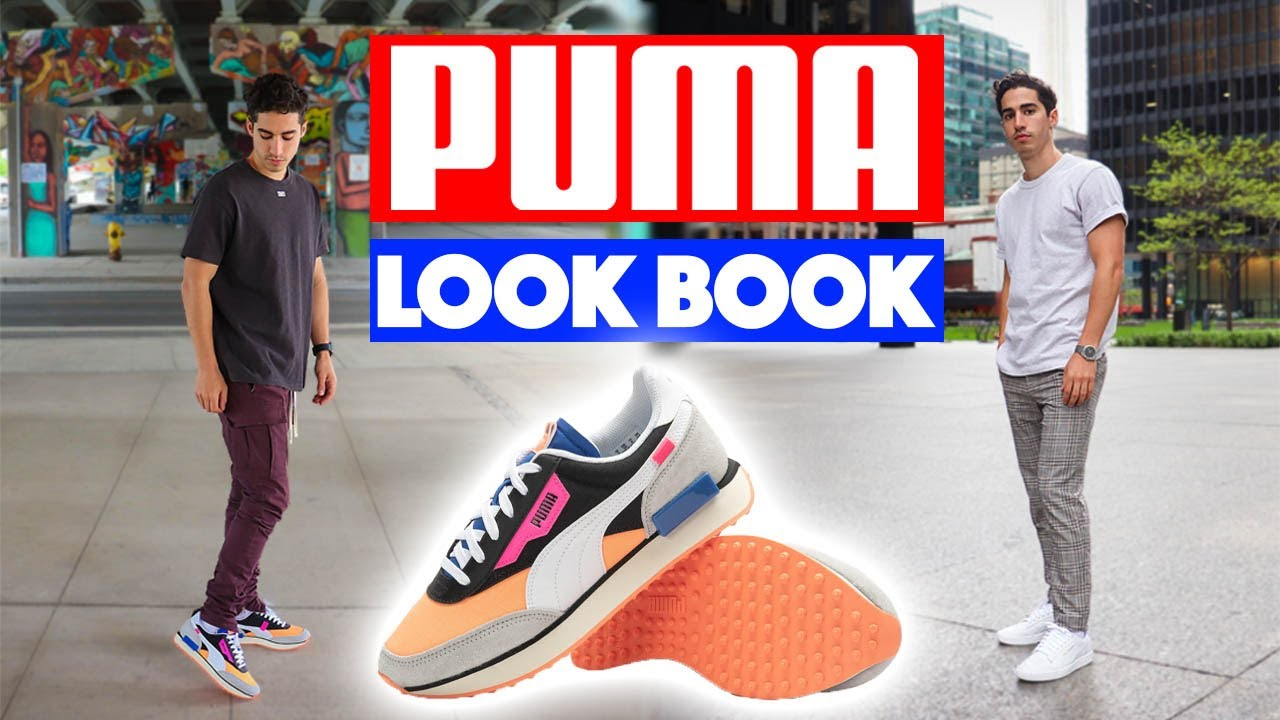 puma sneakers outfit
